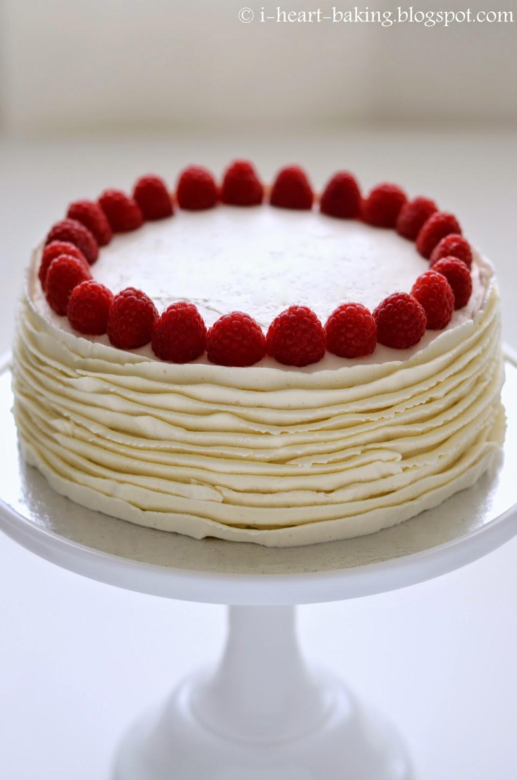 i heart baking!: japanese cheesecake with whipped cream ...