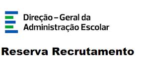 Reserva de Recrutamento 2021/2022