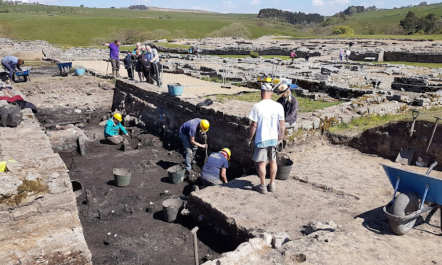 New hoard of Roman writing tablets unearthed at Vindolanda