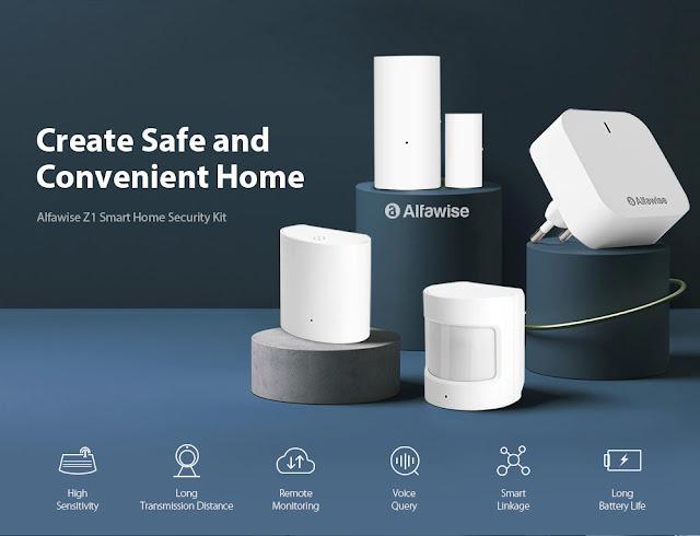 Alfawise Z1 Zigbee - Um Kit de segurança inteligente que tens que conhecer
