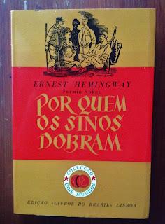 Livraria da Lapa  Ernest Hemingway - Por quem os sinos dobram b8869ddbe98