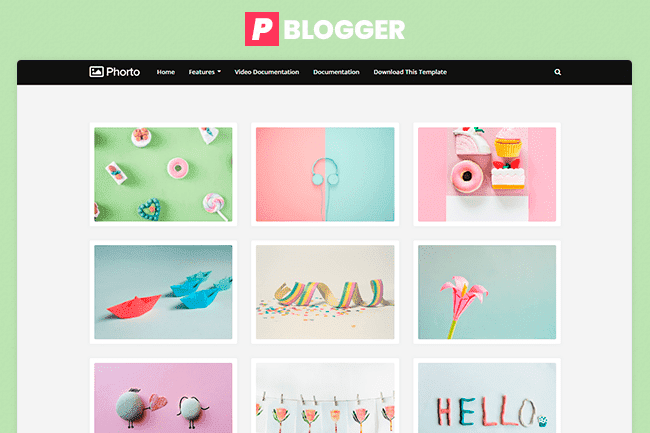 Photography Plantilla Blogger Gratis
