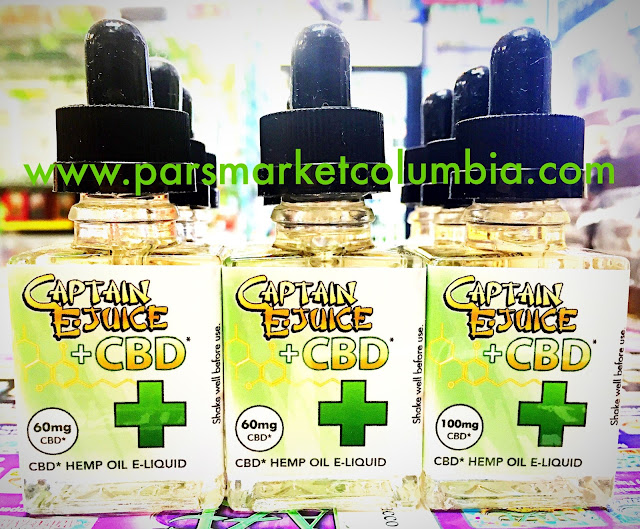 Large selection of CBD e-juice at Pars Market Columbia Howard County Maryland 21045
