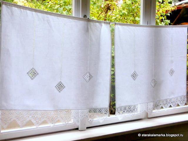 белая занавеска маленькая купить, занавеска купить, занавеска для дома купить, занавеска в деревенском стиле купить, ажурная занавеска купить