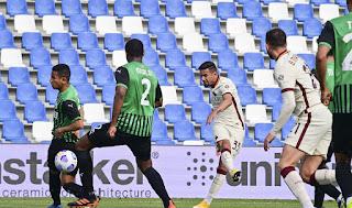 ملخص واهداف مباراة ساسولو وروما (2-2) الدوري الايطالي
