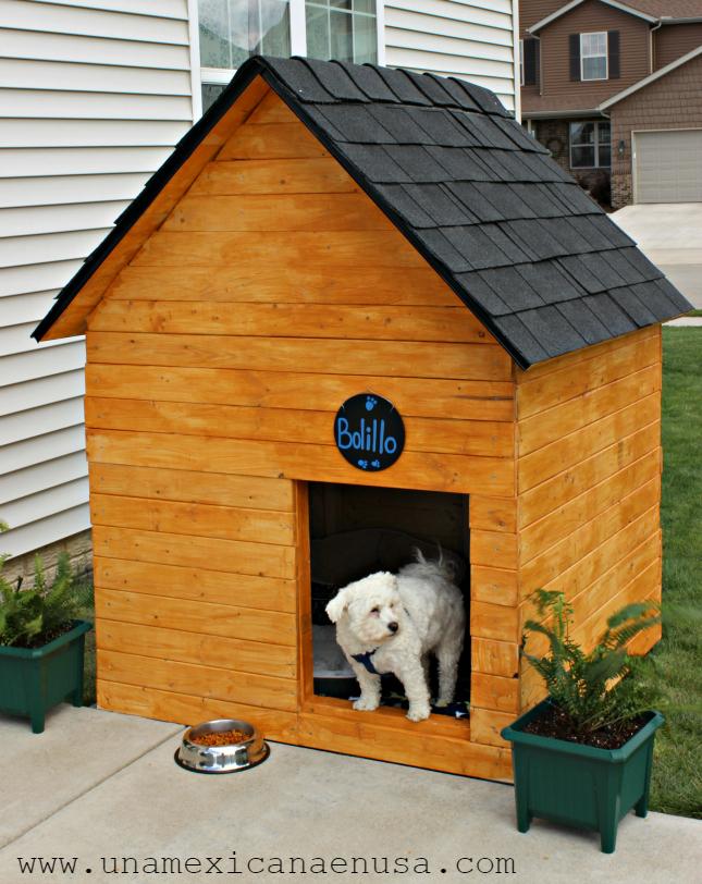 Una mexicana en usa c mo hacer la casa para perro m s bonita for Construir casa de perro