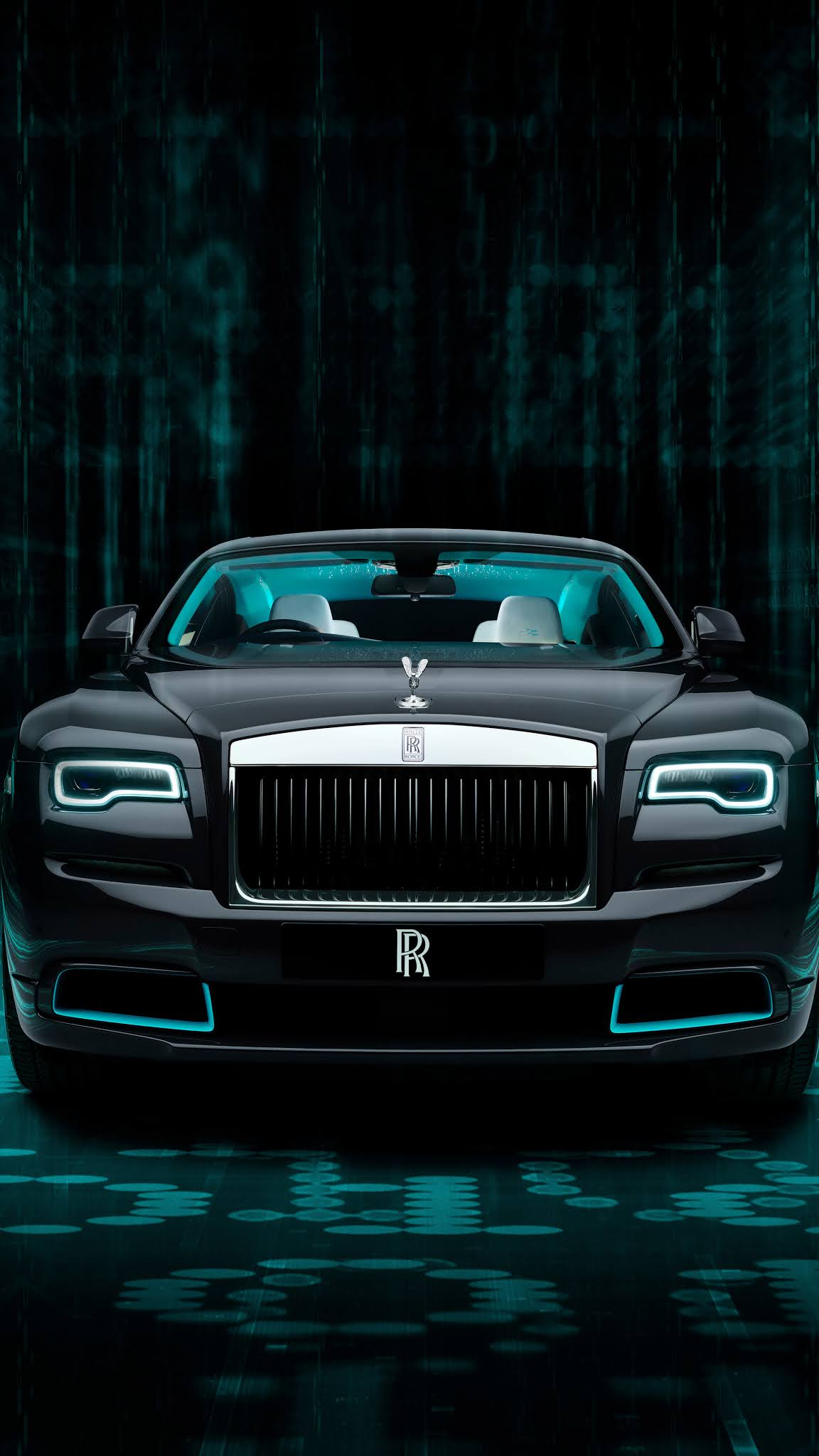 Rolls Royce Wraith Kryptos mobile wallpaper 4k