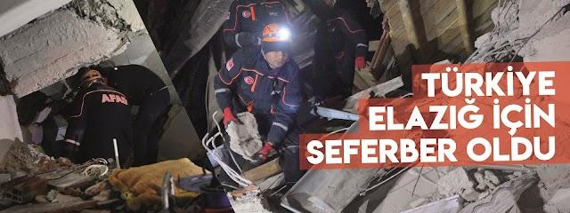 Depremde son durum, 20 vefat yüzlerce yaralı