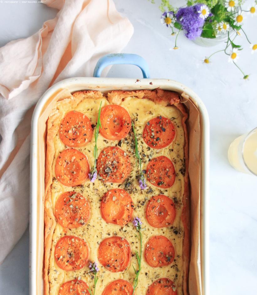 Aprikosen-Pudding-Schnitten | whatinaloves.com