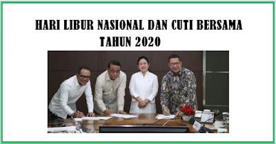 15 Hari Libur Nasional Tahun 2020