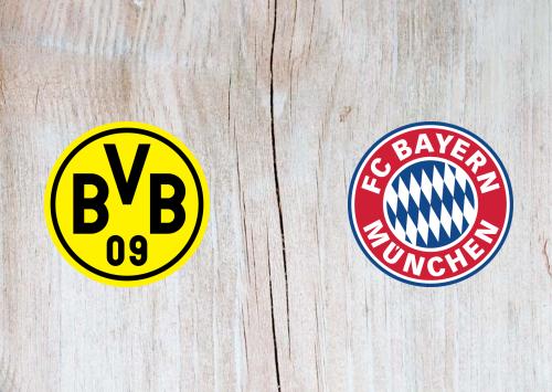 Borussia Dortmund vs Bayern Munich -Highlights 07 November 2020