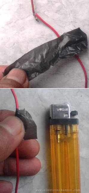 isolator kabel buatan