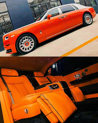 orange Amazing KING Rolls Royce PHANTOM