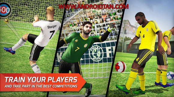 Final kick: Online Football Mod Apk Data Free Download