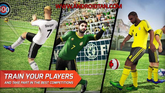 Final kick: Online Football Mod Apk Data Free Download