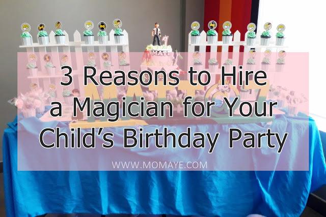 Family, Birthday, birthday celebration, birthday party, birthday preparation, magician for hire