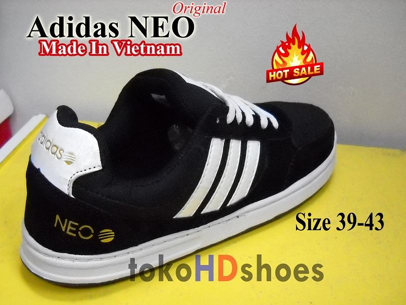 sepatu adidas neo made in vietnam