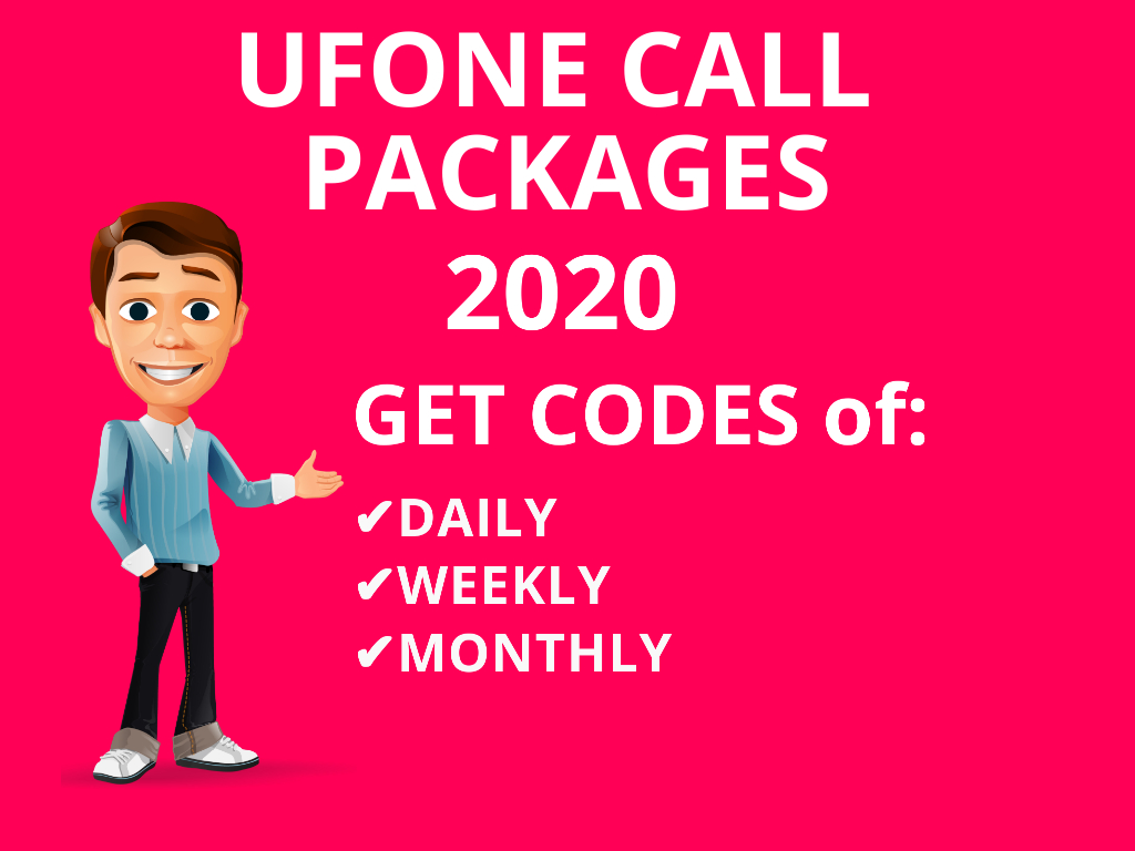 Get Ufone All in One Packages U To U Call Packages Super Card offers code Ufone Daily Call Packages Packages 3 Days Voice Packages, Weekly Call Monthly Code...