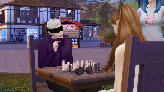 Sims 4 Gojo Satoru Top CC Download - Jujutsu Kaisen