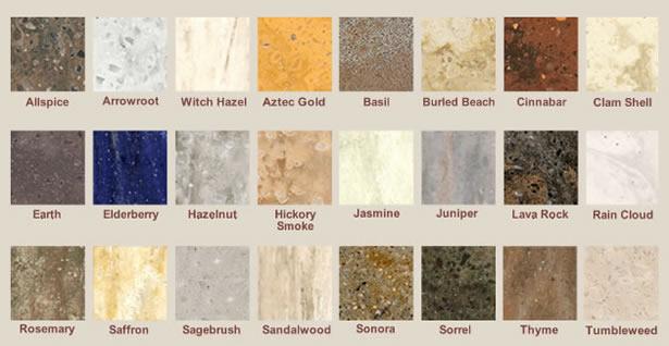 Kitchen Countertops Quartz Colors quartz countertop color chart - bstcountertops