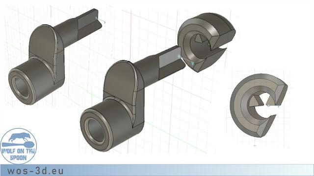 CAD Schwinge Leitrad