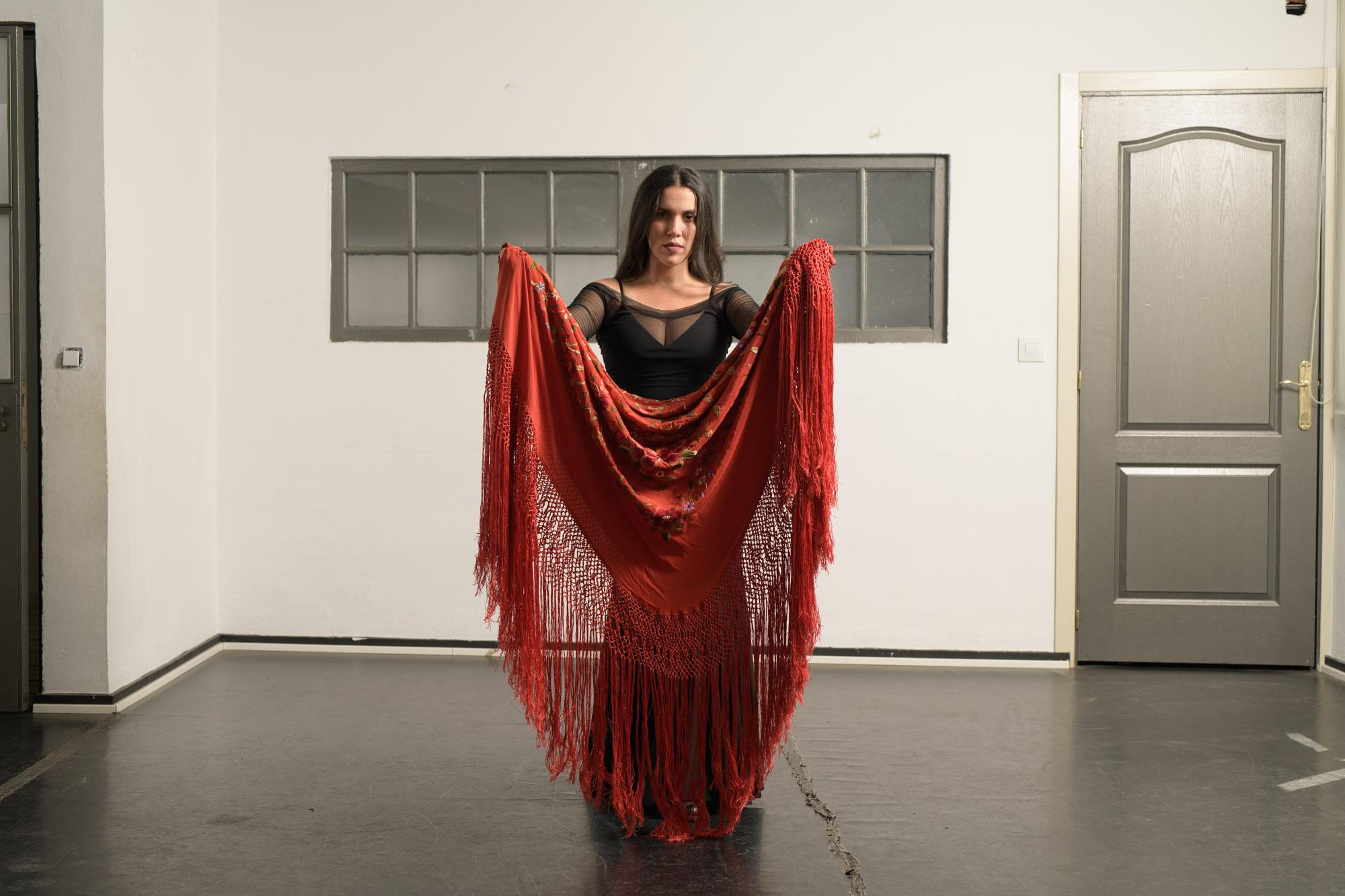 Flamenco mantón