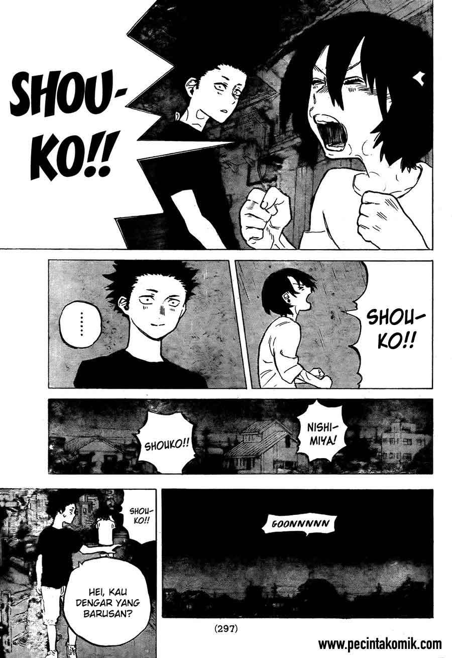 Koe no Katachi Chapter 13-10