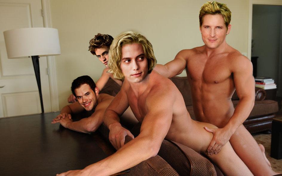 Robert Pattinson in Little Ashes Gay