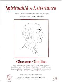 "Recuperi/23 - AA.VV., ""Giacomo Giardina"", Spiritualità & Letteratura, n. 59"