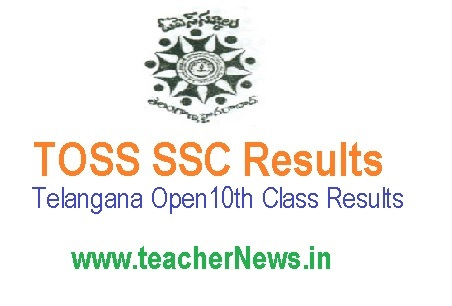 TOSS SSC Results - Telangana Open 10th Class Results Download