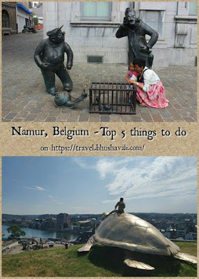 Top 5 things to do in Namur, Belgium