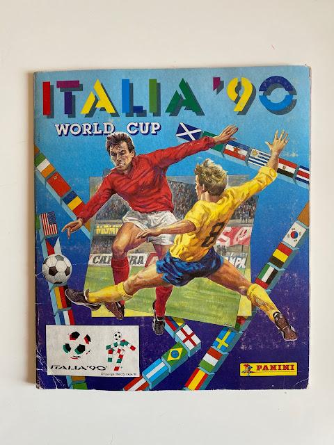 Album Panini Italia 90