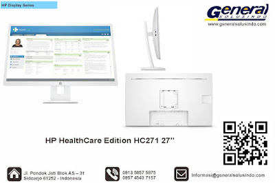 HP HealthCare Edition HC271 27""