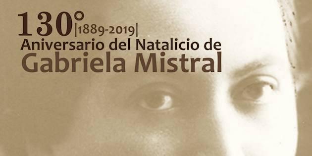 130 años natalicio de Gabriela Mistral