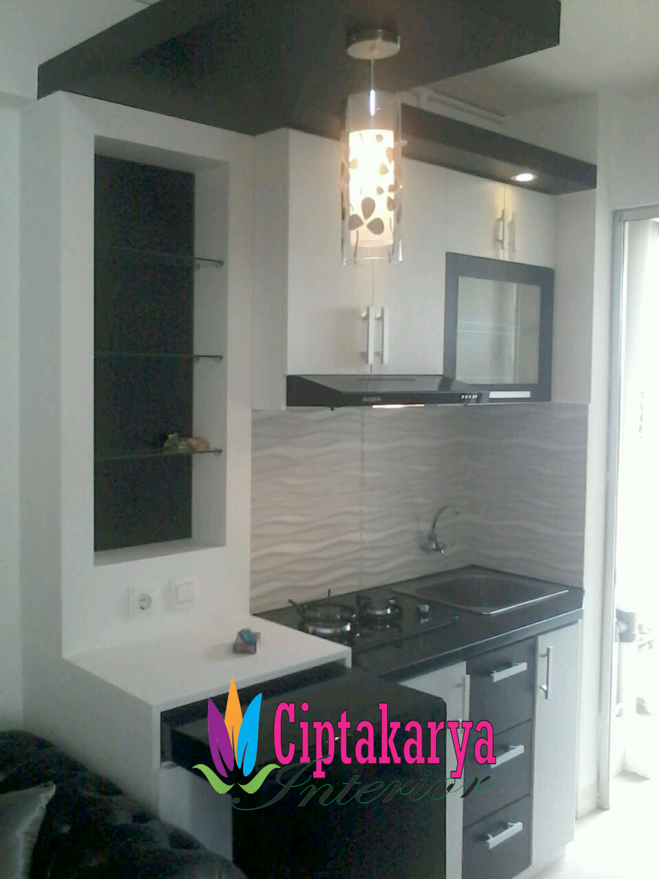Kitchen set apartemen murah jakarta
