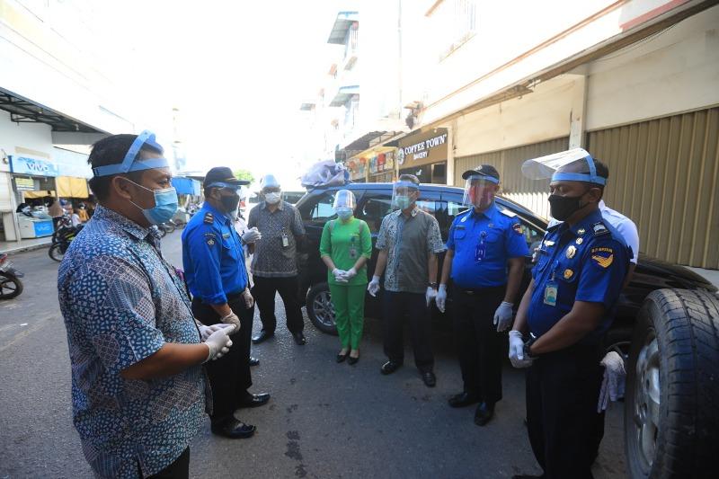 Hari Ini BP Batam Kembali Bagikan Masker Gratis untuk Masyarakat Batam di Daerah Batu Aji dan Sagulung