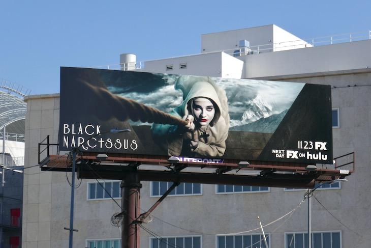 Black Narcissus series premiere billboard