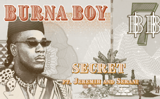 Audio Burna Boy ft Jeremih x Serani - Secret Mp3 Download