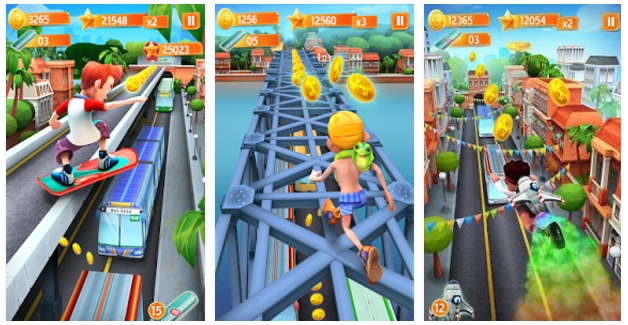 Download Bus Rush Mod Coins Terbaru Gratis