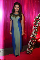 Anupama Paramesvaran in beautiful Sleeveless Gown at Zee Telugu Apsara Awards 2017 01.JPG