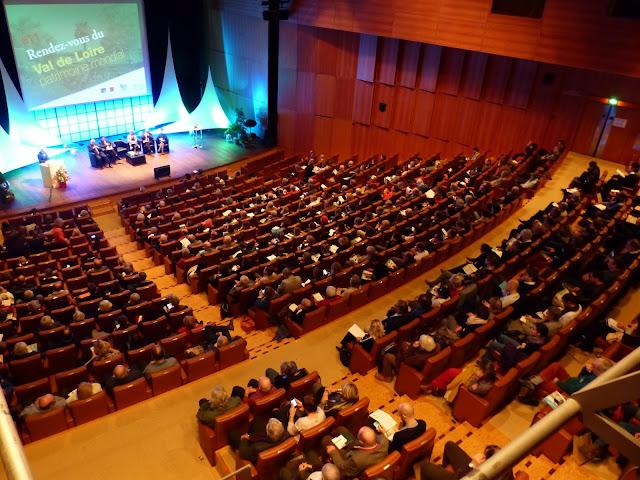Plénière au Vinci avec la Mission Val de Loire novembre 2016