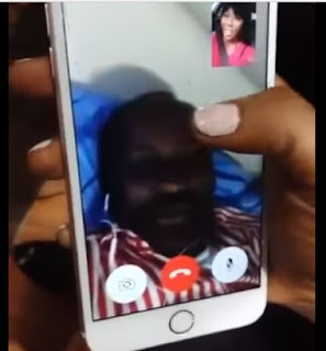 Stephanie Otobo Presents Original Screenshot of Topless Chat With Apostle Suleman