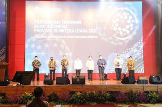 Pemkab Dairi Terima Penghargaan BI Sebagai Pemerintah Daerah ETP Terbaik