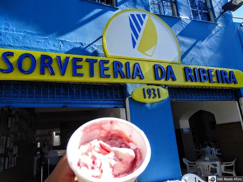 O que fazer em Salvador (Bahia) - Sorveteria do Ribeira