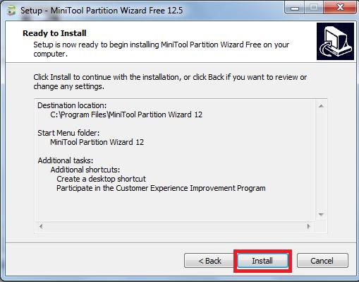 Hướng dẫn cách download, cài đặt và sử dụng phần mềm MiniTools Partition Wizard để chia ổ cứng máy tính f
