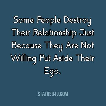 Ego Quotes and Captions