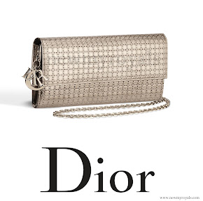 Queen Maxima style DIOR Lady Dior Clutch