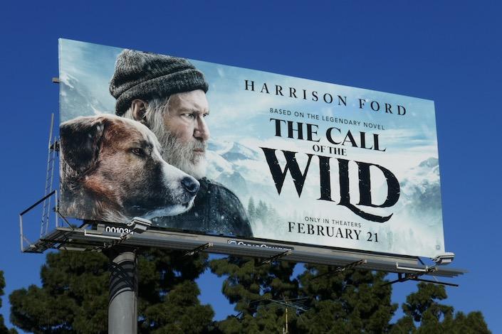 Call of the Wild film billboard