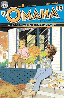 Omaha the Cat Dancer #8 from Kitchen Sink Press