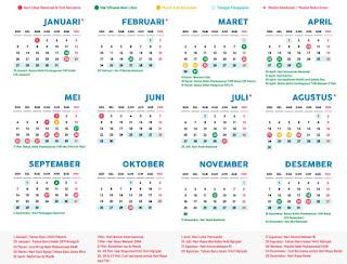 Jadwal Hari Libur Nasional Dan Cuti Bersama Tahun 2020, Lebaran Kapan?